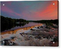 Merrimack River Falls Acrylic Print