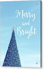 Merry And Bright - Art By Linda Woods Acrylic Print