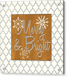 Merry And Bright Acrylic Print