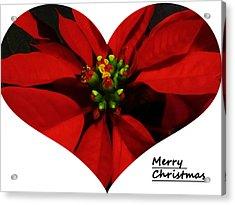 Merry Christmas All Acrylic Print