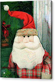 Merry Christmas Art 15 Acrylic Print