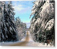 Merry Christmas,happy Holidays Acrylic Print by Elfriede Fulda