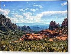 Merry Go Round Arch, Sedona, Arizona Acrylic Print