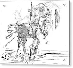 Merry-go-round Horse Acrylic Print