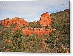 Merry-go-round Rock Acrylic Print by Gary Kaylor