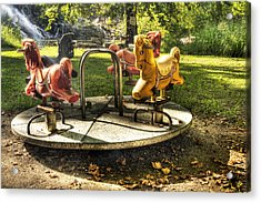 Acrylic Print featuring the photograph Merry-go-round by Tamyra Ayles