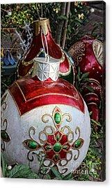 Merry Joyful Christmas Acrylic Print