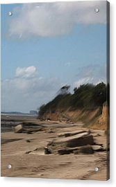Mersea Island Acrylic Print by Angelina Whittaker Cook