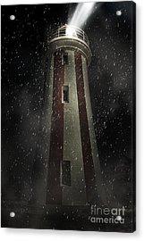 Mersey Bluff Lighthouse In Devonport. Fine Art Acrylic Print