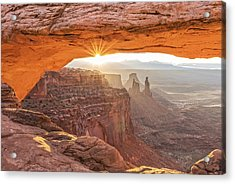 Mesa Arch At Sunrise #1 Acrylic Print