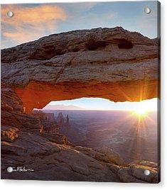 Mesa Arch, Canyonlands, Utah Acrylic Print