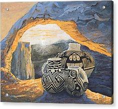 Mesa Arch Magic Acrylic Print