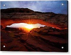 Mesa Arch Sunrise Acrylic Print