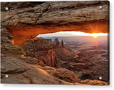 Mesa Arch Sunrise - Www.thomasschoeller.photography   Acrylic Print