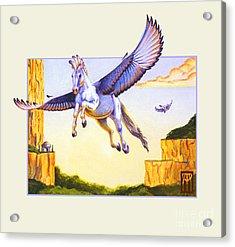 Mesa Pegasus Acrylic Print by Melissa A Benson