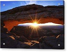 Mesa Sunrise Acrylic Print by Chad Dutson