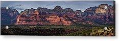 Mescal Mountain Panorama Acrylic Print