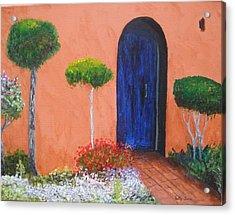 Mesilla Door Acrylic Print