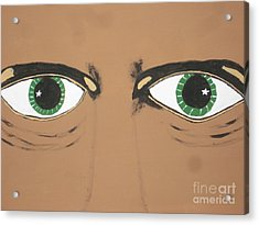 Acrylic Print featuring the painting Mesmerized Eyes by Jeffrey Koss