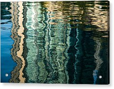 Mesmerizing Abstract Reflections Two Acrylic Print