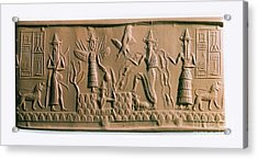 Mesopotamian Gods Acrylic Print