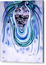 Message Acrylic Print by Sima Amid Wewetzer