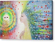 Messenger Of Hope  Acrylic Print