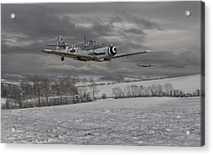Messerschmitt Bf 109 G - Gustav Acrylic Print by Pat Speirs