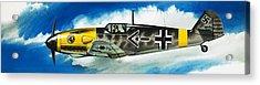 Messerschmitt Fighter Acrylic Print by Wilf Hardy