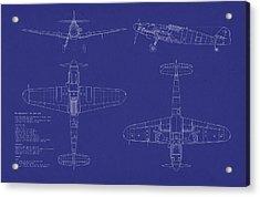 Messerschmitt Me109 Acrylic Print