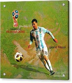 Messi World Cup 2018  Acrylic Print