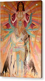 Messiah Acrylic Print by Brian c Baker