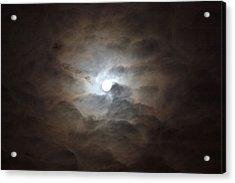 Messianic Moon Acrylic Print