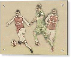 Mesut Ozil Acrylic Print