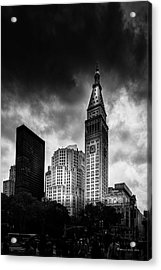 Acrylic Print featuring the photograph Met-life Tower by Marvin Spates
