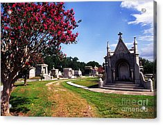 Metairie Cemetery New Orleans Acrylic Print