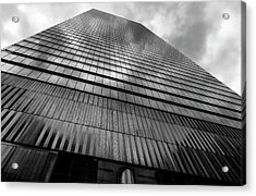 Metal And Glass High Rise Acrylic Print by Robert Ullmann