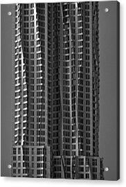 Metal Clad Building Acrylic Print
