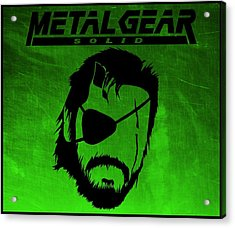 Metal Gear Solid Acrylic Print by Kyle West