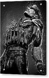 Metal Gear Solid Acrylic Print by Taylan Apukovska
