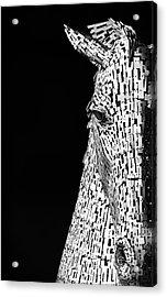 Metal Horse Acrylic Print