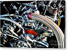 Metal Matter Acrylic Print by Linda  Parker