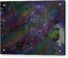 Metallic Color Acrylic Print by J P Lambert