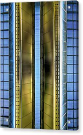 Metallic Acrylic Print by Wim Lanclus
