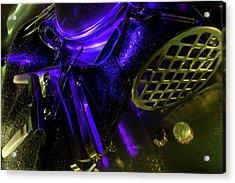 Metallurgy Acrylic Print by Barbara  White