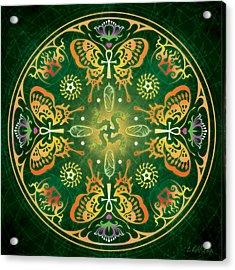 Metamorphosis Mandala Acrylic Print