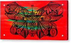 Metamorphosis Of Life Acrylic Print by Kenal Louis