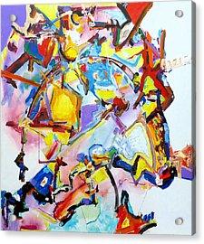 Metamorphosis On A Swing  Acrylic Print