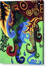 Metaphysical Fauna Acrylic Print by Genevieve Esson