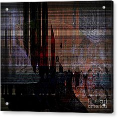 Metaphysical Formations Acrylic Print by Fania Simon